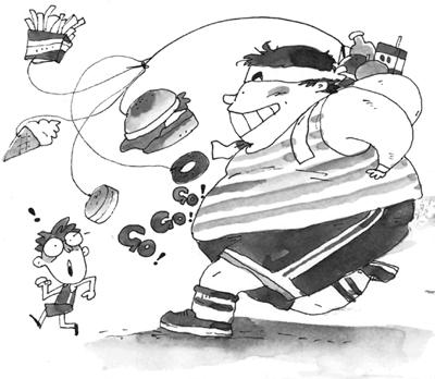许惠玉表示,父母和师长不想孩子变成小胖子,饮食态度